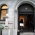 銀座二丁目,Henri Charpentier銀座店超氣派復古的大門