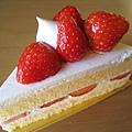 12/19,草莓蛋糕質樸實在,不是令人驚艷的美味,卻讓我想起媽媽的味道(Why?明明我娘不會做蛋糕)