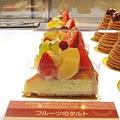 店員說水果塔也很受歡迎,504円