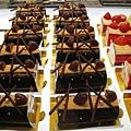 2009年聖誕蛋糕之二:巧克力鮮奶油蛋糕捲,578円