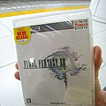 Final Fantasy13入手,用上次買電視累計的YAMADA點數免費換到的,阿宅笑開懷
