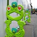 還有眼睛冒愛心的青蛙,有沒有這麼幽默