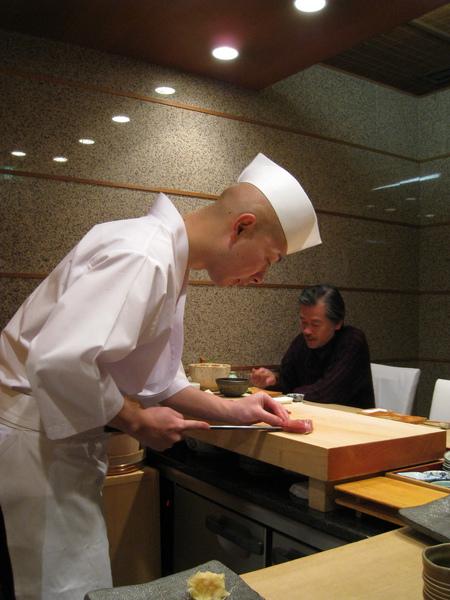 我和大白都點了最便宜的5000日圓午間套餐