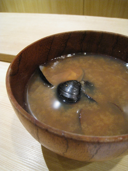 蛤蜊味噌湯,味道還OK
