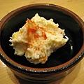 開胃小菜好像常更換,今天是馬鈴薯泥沙拉,不錯