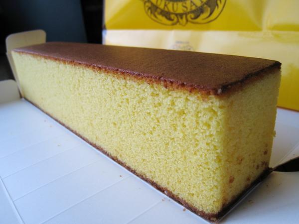 一般版的カステラ,適合喜歡蓬鬆清淡口感蜂蜜蛋糕的人