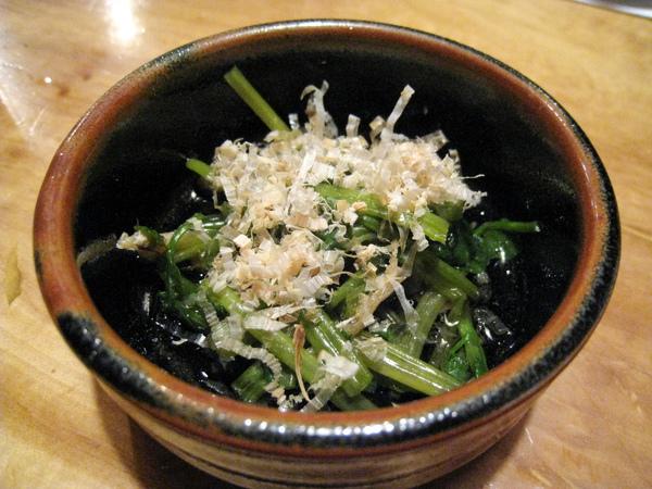 1/12四訪(三訪時沒拍照),今日小菜是柴魚拌小松菜