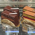 1/24,外帶Jean-Paul Hevin的Caracas巧克力蛋糕,557円