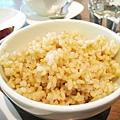 大白選的糙米飯