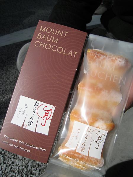 左為巧克力口味,右為原味。