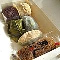 六種和菓子,甜食控和澱粉控的罪惡天堂。這樣一盒1260日圓。