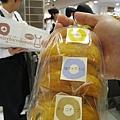 3/27戰利品:三個甜甜圈,分別是北海道鮮奶、鹽味生牛奶糖、巧克力豆口味
