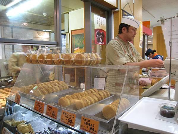 「十勝大名」好像就是「今川燒」?總之就是跟台灣車輪餅差不多的小吃