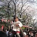 為了讓親愛的小女兒賞到櫻花,偉大爸爸犧牲了手臂