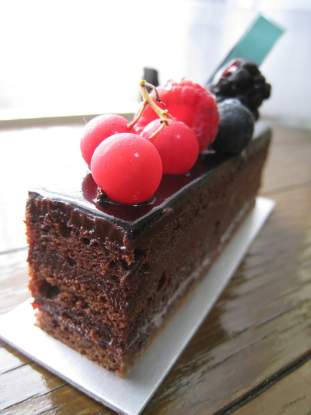 à tes souhaits!的強項是鮮奶油和海綿蛋糕體,巧克力甜點表現也很出色,口味應該算是東京法式甜點店中相對走清爽路線的,與重口味的AOKI剛好是光譜的兩端。