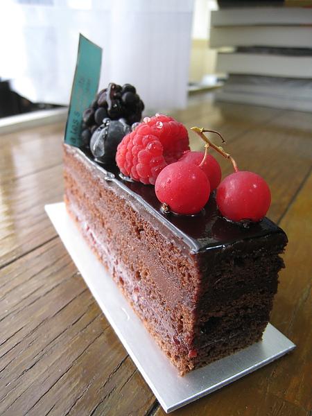 覆盆莓巧克力蛋糕(Fondant Chocolat/フォンダン・ショコラ),450日圓
