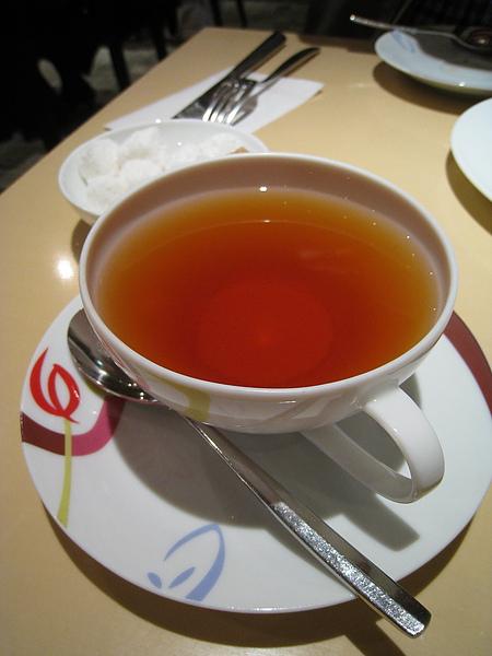 伯爵紅茶(Earl Grey),740円,就這麼小小一杯,比蛋糕還貴