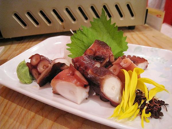 涼拌章魚腳(タコぶつ),499日圓,我喜歡,大白覺得普通