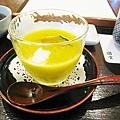 清爽開胃的南瓜冷湯,冬天應該會換成熱湯吧