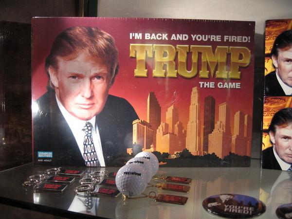 川普式的大富翁遊戲