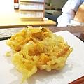 天婦羅之十:綜合天婦羅,炸的香酥脆,非常下飯