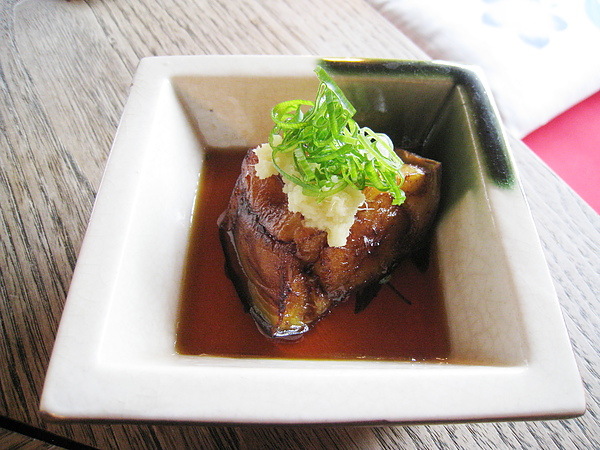 醬燒茄子,這道我超愛,京都的蔬菜真是好吃的沒話說