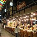 京都有名的漬物店很多,錦市場裡的打田漬物也是其中一家