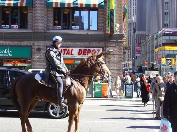 Broadway上的騎警