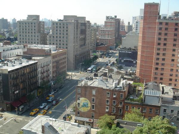 位處Union Square宿舍的窗景