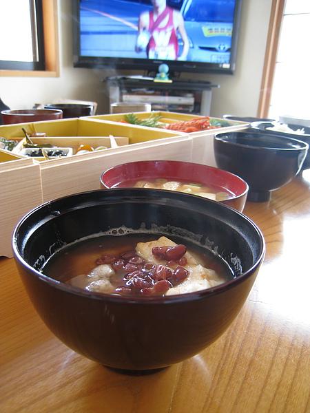 飯後來碗我最愛的紅豆年糕湯!