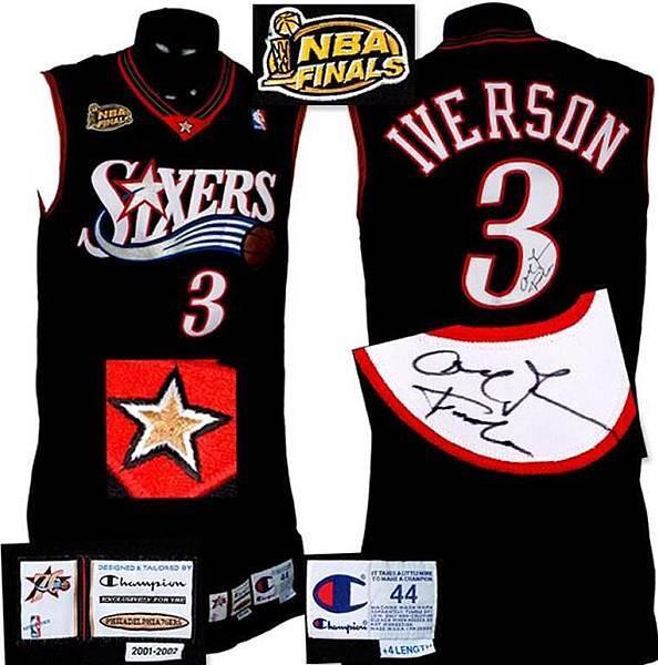 super popular b54c6 d846b NBA球隊的球衣演進史: Philadelphia 76ers _p.2 - NBA - 籃球 ...
