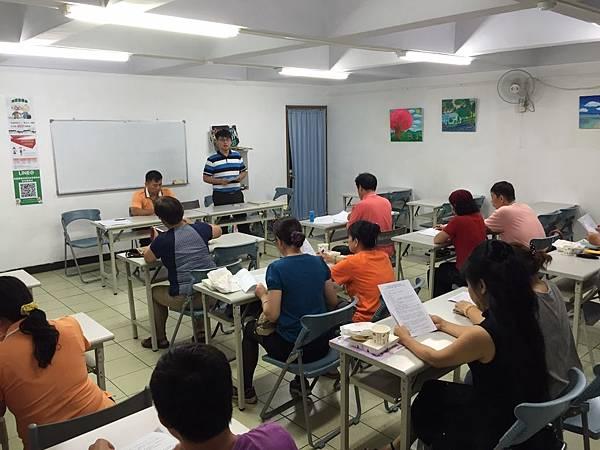 救國團南投縣團委會七月份團務單位總幹事會務