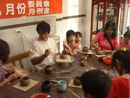 2014救國團盃義工親子陶藝研習活動照片027