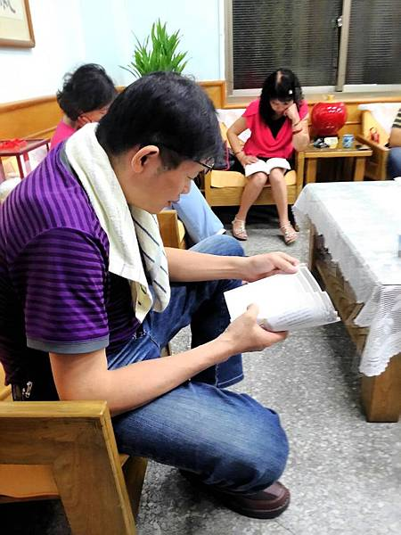 救國團彰化團委會舉辦的身心靈成長讀書會