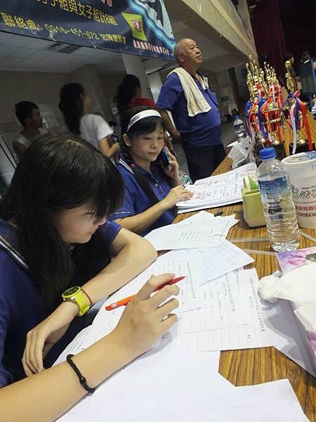 1030817阿蓮區團委會三對三籃球賽--辛苦的工作人員1