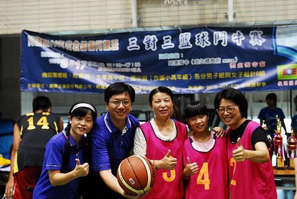 1030817阿蓮區團委會三對三籃球賽--活動花絮