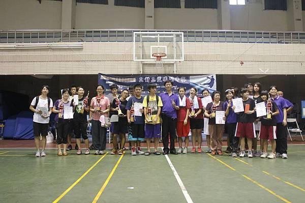 1030817阿蓮區團委會三對三籃球賽--得獎者合照