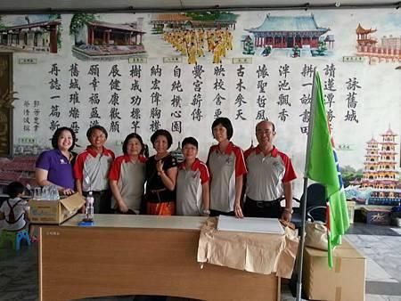 1031026左營區團委會辦理第31屆春秋盃書法寫生比賽活動--工作人員合照