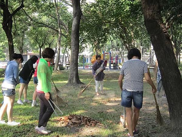 1030314 工青一隊「社區美化」 公園環保淨化活動-1