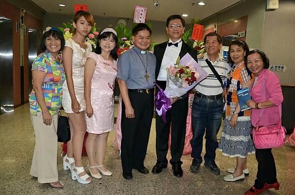 1040731阿蓮區團委會辦理兄弟琴聲音樂會--完滿結束合照