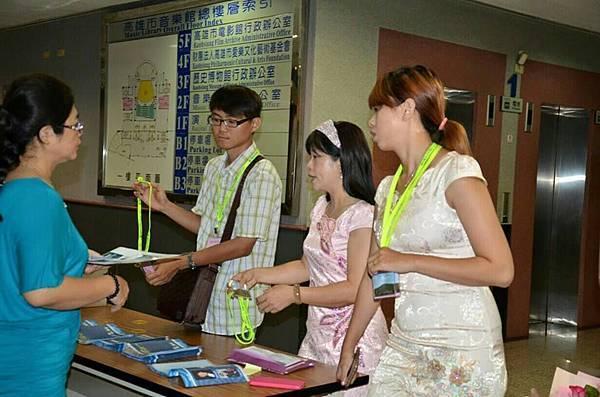 1040731阿蓮區團委會辦理兄弟琴聲音樂會--阿蓮區工作人員留影