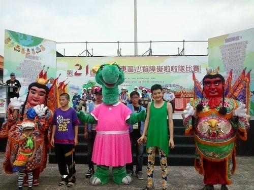 第21屆台灣北東區心智障礙啦啦隊比賽小助理誕生!