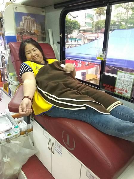 坪林區團委會舉辦『愛心捐血』活動