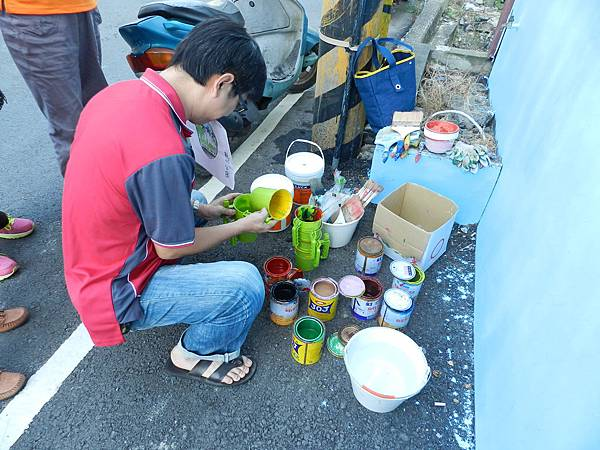和興社區彩繪壁畫活動