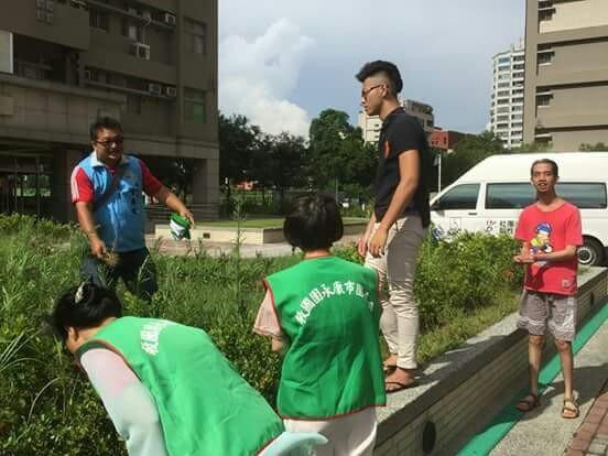 1050526臺南市永康區團委會愛在飛翔開心農場在腦麻