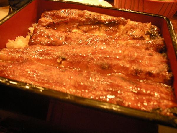 鰻魚飯(大)另一個角度