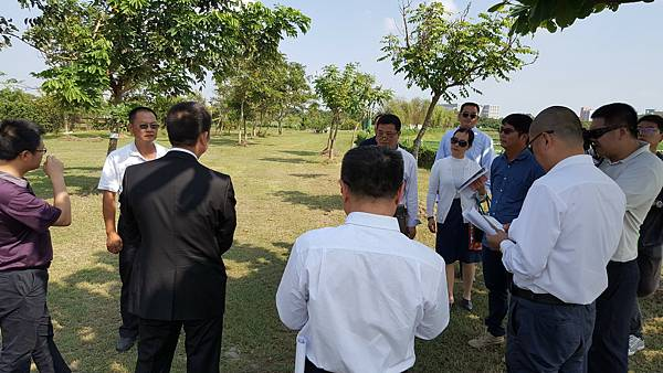 105/11/07廣州環保局參訪荷苞嶼生態園區