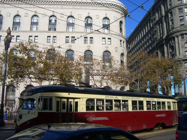 舊金山的街道