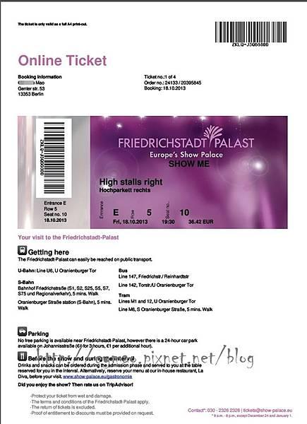 Friedrichstadt-Palast: SHOW ME 23