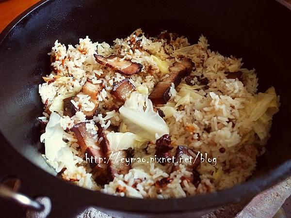 荷蘭鍋-臘肉飯